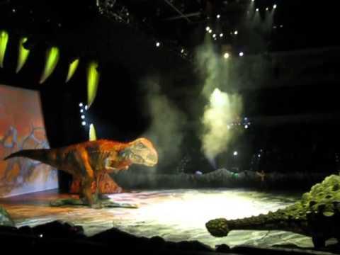 Walking with the Dinosaurs Animatronics Part 3
