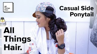 Casual Side Ponytail by Indira Kalista Mp3