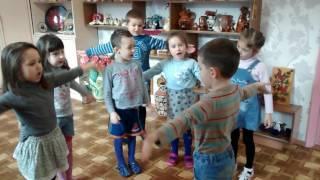 физкультминутка на уроке английского языка в детском саду