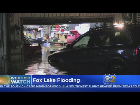 Heavy Rain Causes Flooding In Northern Suburbs