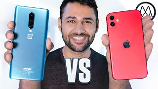 OnePlus 8 vs iPhone 11