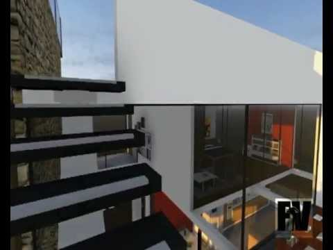 Progetto casa moderna youtube for Arredi sketchup