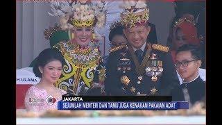 MERIAH!! Upacara HUT ke-73 RI sekaligus Menjadi Parade Adat Nusantara - iNews Malam 17/08 - Stafaband