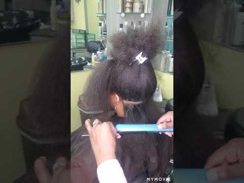 Protein Treatment on Natural Hair/Flatiron