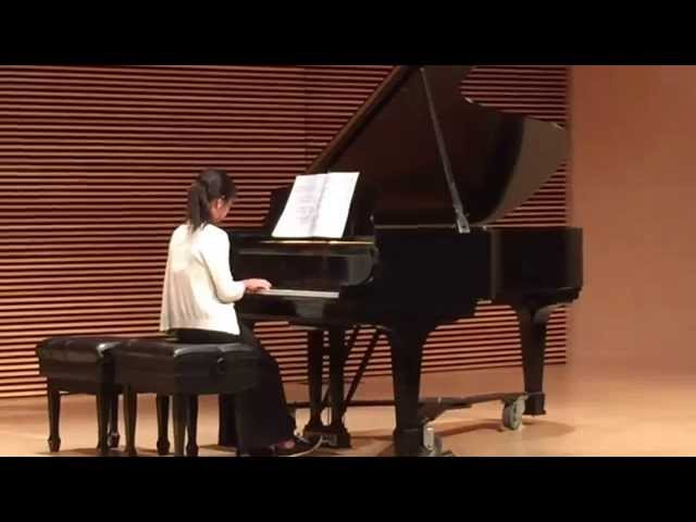 Isabel piano recital, Angels Voices (J. Burg miller), December 21, 2014 at CSMA