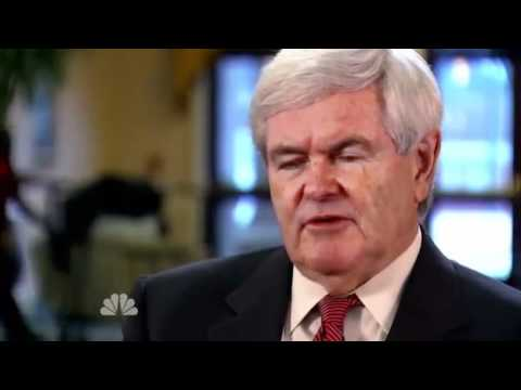 "Gingrich Admits Billionaires Back Him Because He Is ""Very Pro Israel"""
