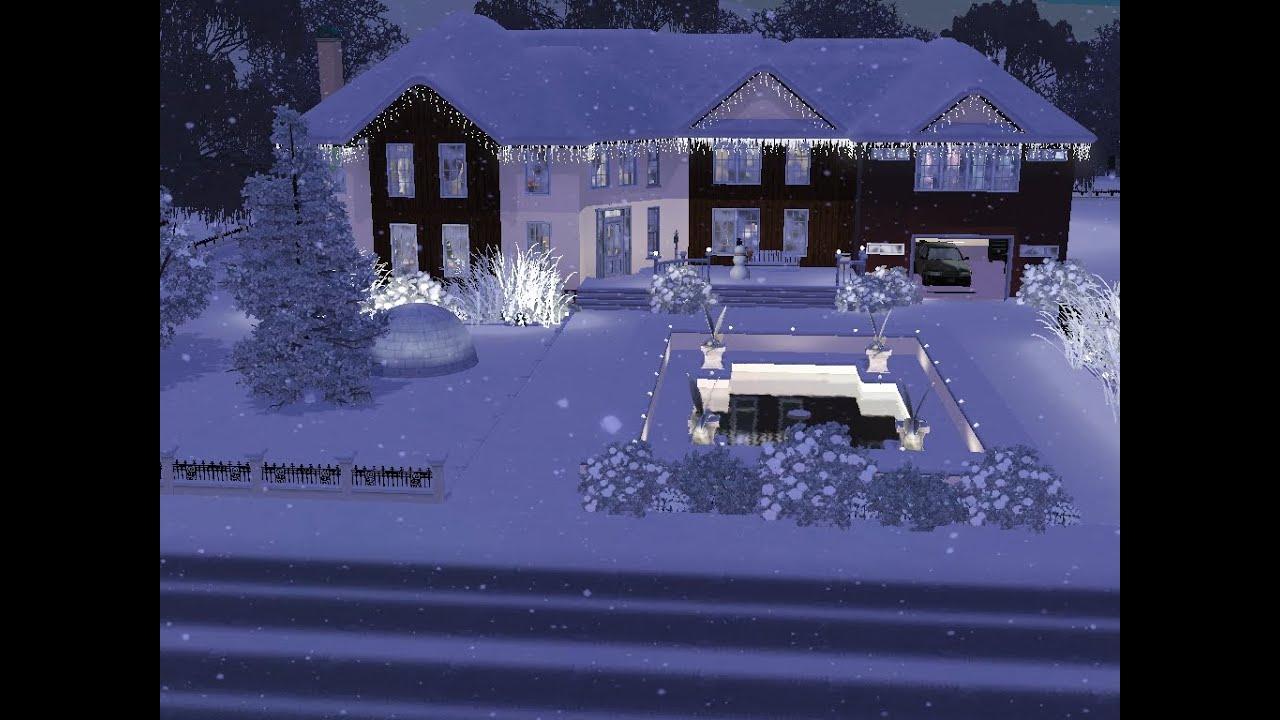 sims 3 haus bauen let 39 s build weihnachten bei. Black Bedroom Furniture Sets. Home Design Ideas