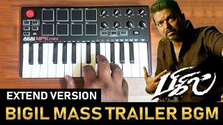 Bigil Mass Trailer Bgm (Extend Version) By Raj Bharath | Thalapathy Vijay | A.R.Rahman