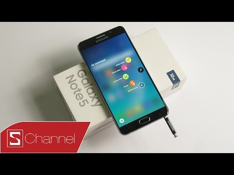 Schannel - Mở hộp Galaxy Note 5 tại Việt Nam : Đẹp rạng ngời mà không chói loá