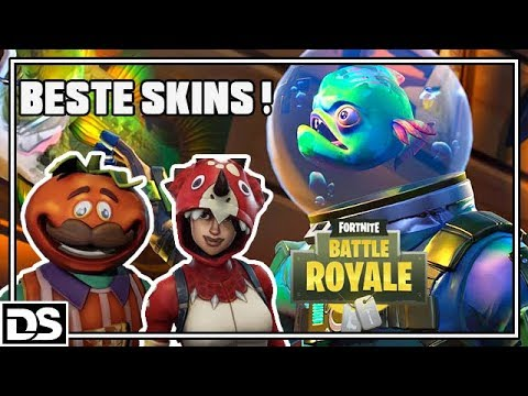 BESTE Skins Tomato Boy & Dino Girl - Fortnite Battle Royale Deutsch (Fortnite Gameplay German)