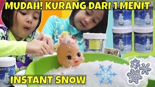 Mainan Anak Mandi Salju Buatan ❤ Instant Snow Powder Under 1 minutes