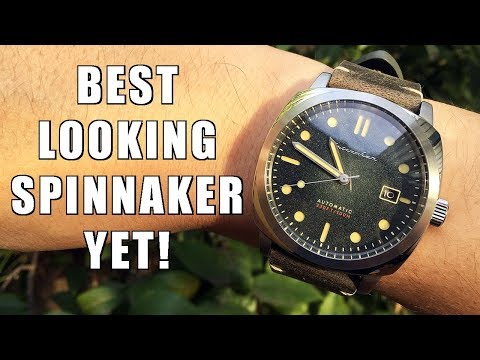A Very Nice Panerai Homage! Spinnaker Hull Automatic Dive Watch Review (SP-5059) - Perth WAtch #138