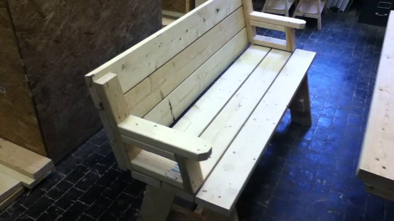Folding Bench Youtube