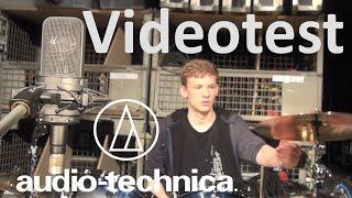 Videotest Audio Technica AT4040 [Studio Großmembran Mikrofon] (HD)