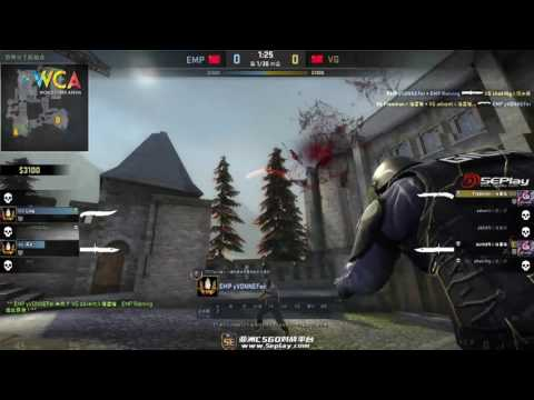 WCA2017 CS:GO China Qualifers 0420 Group Stage  EMP vs VG(1)
