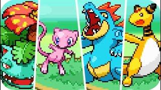 Pokémon HeartGold & SoulSilver : All Pokémon Sprite Animations (HQ)