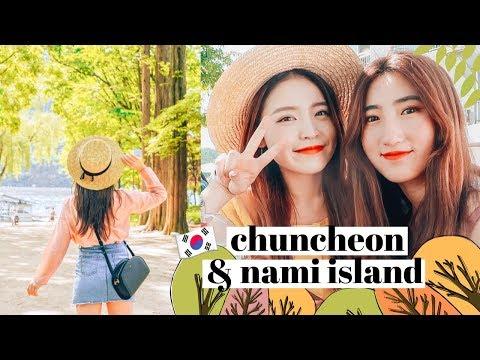 CHUNCHEON + NAMI ISLAND TRAVEL DIARY 🇰🇷 Korea Vlog