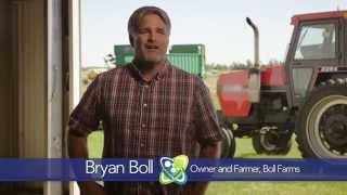 Bryan Boll, Owner and Farmer, Boll Farms, says