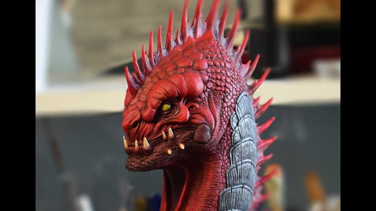 Sculpture Of Red Prince From Divinity Original Sin 2