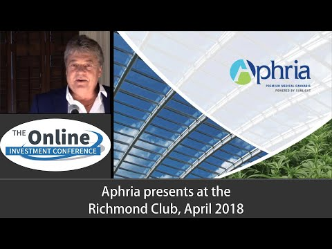 Aphria Investor Presentation April 2017 Richmond Club
