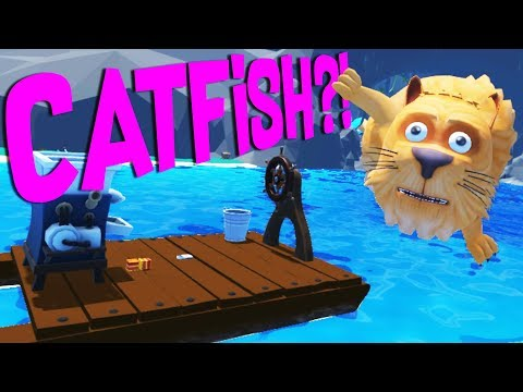 Fishing for the Epic Catfish and Repairing the Boat! - Crazy Fishing HTC Vive VR