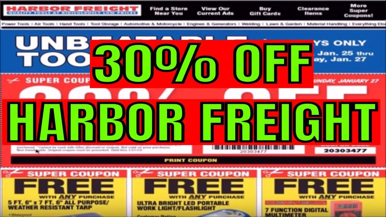 freight harbor coupon plus