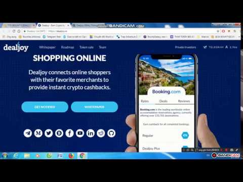 DEALJOY - EARN CRYPTO BY SHOPPING ONLINE [Review ICO