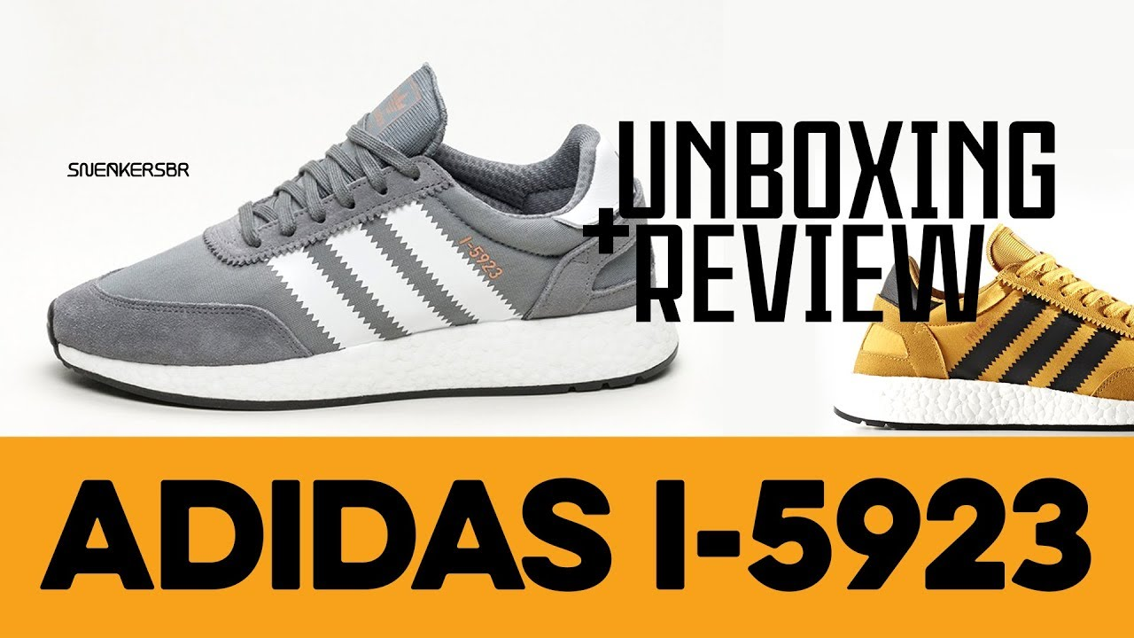 UNBOXING+REVIEW - adidas I-5923. Sneakers BR