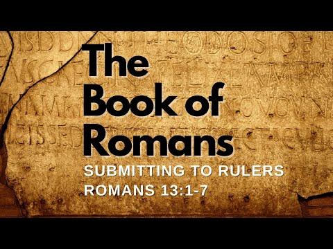 RCBC House Church Romans 13 Teaching