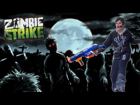 NERF War: Attack of The Living Dead