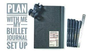 Plan With Me: My Bullet Journal Set Up 跟我一起設計一本新的子彈筆記
