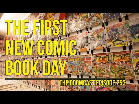 New Comic Book Day / Comic Distribution during pandemic // The Doomcast Episode 253253