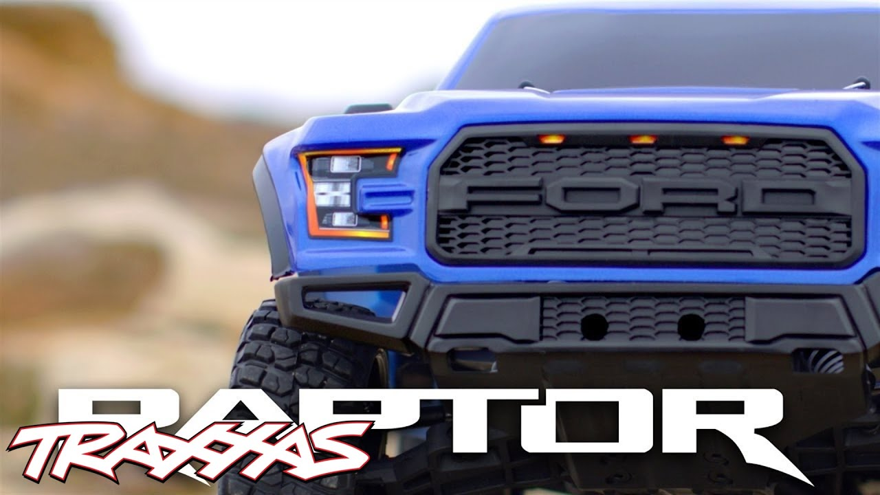 2017 Ford F 150 Raptor Traxxas Youtube