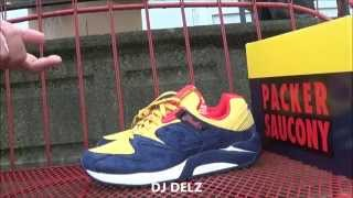 Just Blaze x Packer Shoes x Saucony Grid 9000 Snow Beach Polo Shoe Review