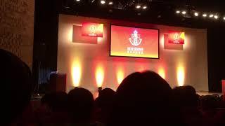 名古屋グランパス 2018新体制発表会 前半 ミニライブは撮影禁止の為、撮...