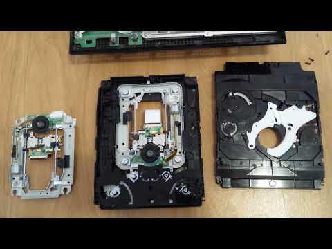 PS3  не читает диски. Замена модуля привода.