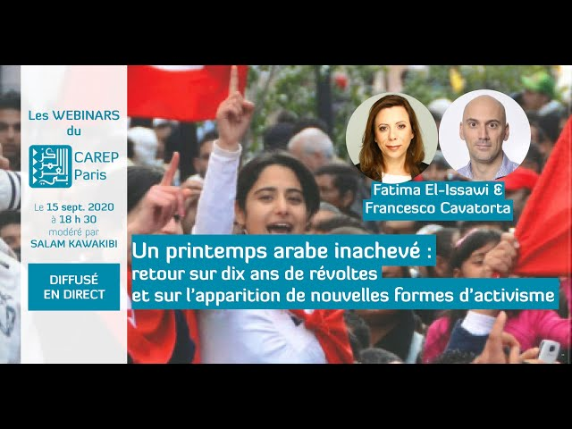 Webinaire 13 : Un printemps arabe inachevé