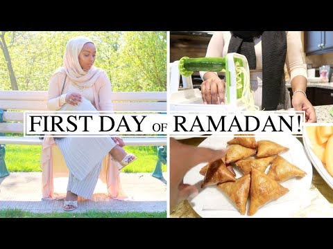 THE RAMADAN DAILY #2 | Modest Fashion Shoot, Food Shopping + FIRST IFTAR! | Aysha Abdul