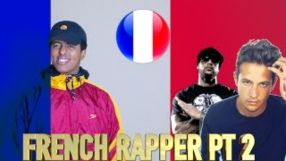 FIRST REACTION TO FRENCH RAP/HIP HOP PART 2