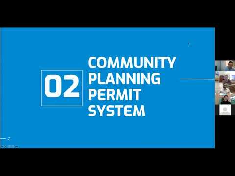 October 14 Community Planning Permit Open House