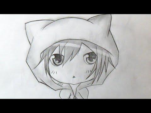 Passo A Passo Como Desenhar Menino Chibi Anime 2 Youtube