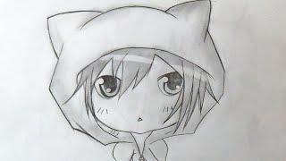"""""""Passo a Passo"""" Como desenhar menino Chibi Anime 2"""
