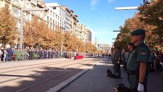 Acto conmemorativo Guardia Civil en Zaragoza