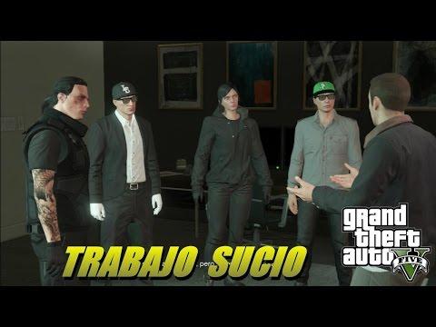 2.4 TRABAJO SUCIO / GTA 5 ONLINE / NUEVAS MISSIONES