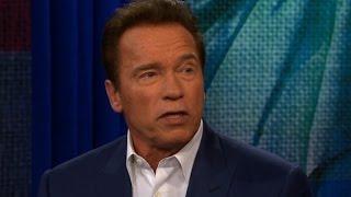 Schwarzenegger laughs off Trump criticism