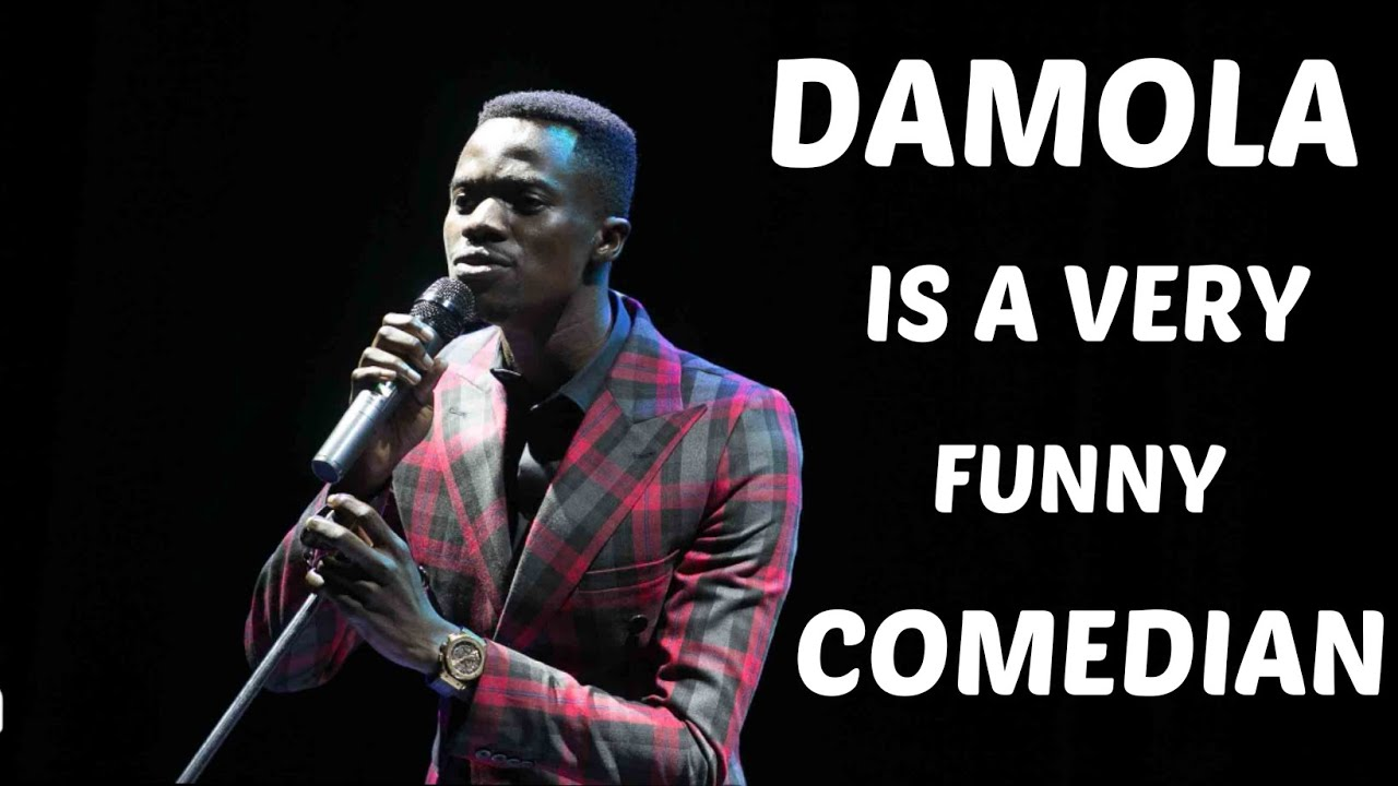 Download COMEDIAN DAMOLA is a really funny guy.