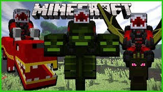 Minecraft - RIDE ANY TYPE OF MOB OR CREATURE USING THE ANIMAL BIKES MOD