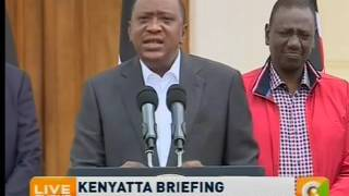 We are sorry, we under-prepared - Uhuru on failed Jubilee primaries