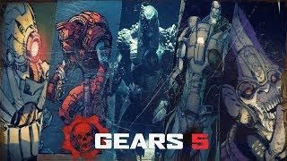 El Nuevo Enemigo De Gears 5 Y Los 4 Locust Misteriosos.