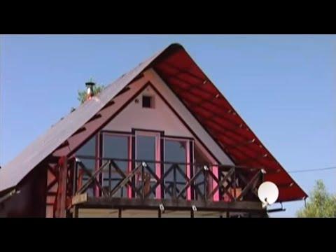 Дом из поликарбоната. Дачные истории